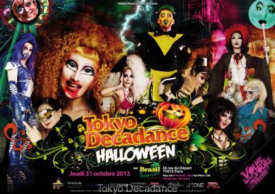 Tokyo Decadance Halloween 2013 au Brasil Tropical