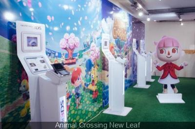 Exposition Animal Crossing : New Leaf à l'Imprimerie