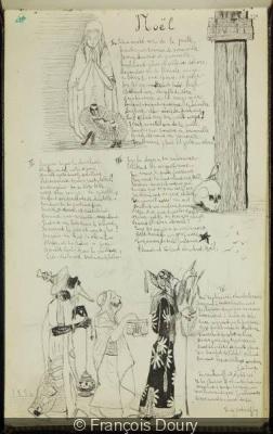 exposition Vers et Prose, Pierre Bergé à la BNF
