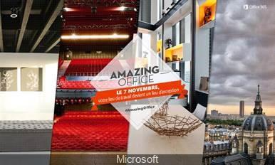Microsoft propose de vivre une expérience de travail inédite