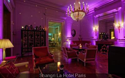 Le Shangri Lounge du Shangri La Hotel Paris
