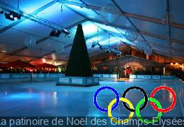 La patinoire de Noël des Champs-Elysées 2013