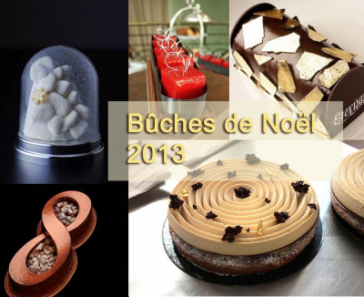 Le Top des bûches de Noël 2013 à Paris