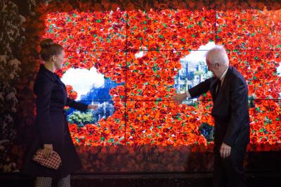 Les vitrines de Noël des Galeries Lafayette 2013, coup d'envoi !