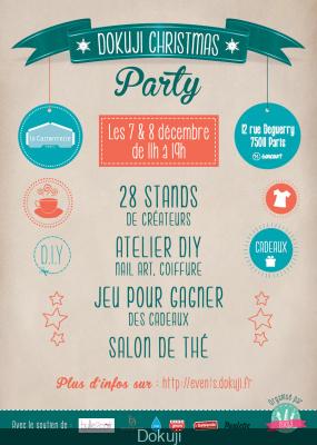 Dokuji Christmas Party, le marché de Noël de la Cartonnerie