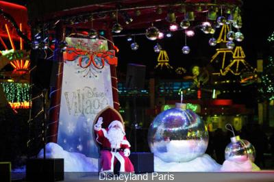 Noël et Réveillon du Nouvel An 2013-2014 au Disney Village