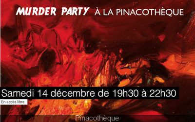 Une Murder party à la Pinacothèque