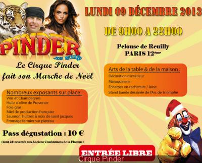 Marché de Noël du Cirque Pinder