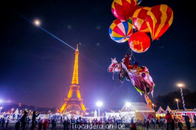 Soirée d'inauguration de Trocadéro on Ice