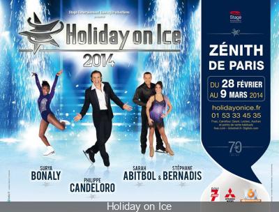 Holiday on Ice 2014 au Zénith de Paris