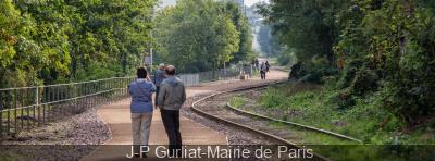 La Petite Ceinture : ouverture de la partie Balard - Parc Georges Brassens