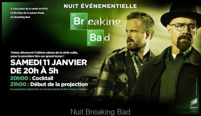 Nuit Breaking Bad à Paris