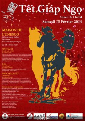 Le Nouvel An Vietnamien 2014 à l'Unesco à Paris