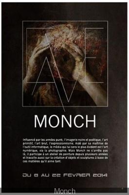 Exposition Monch à la Galerie Jean-Baptiste Claudot