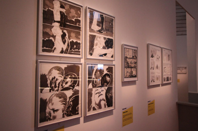Albums, bandes dessinées et immigration au Musée de l'Immigration
