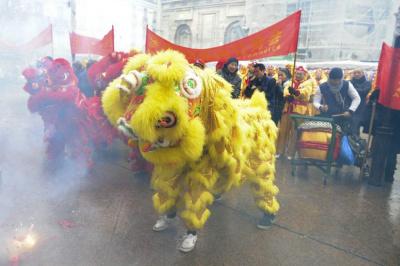 Le Nouvel an Chinois à Aubervilliers