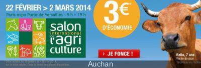 Bon plan Salon de l'Agriculture 2014