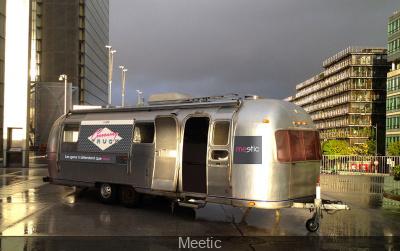 Le Cocooning Truck Meetic pour la Saint-Valentin