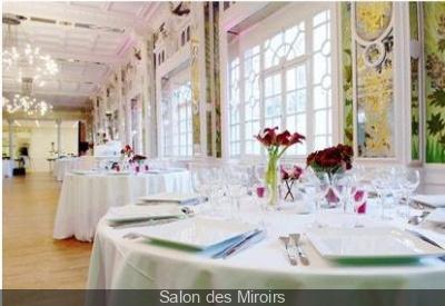 Diner de Saint Valentin au Salon des Miroirs