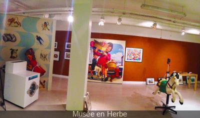 Les ateliers du Musée en Herbe pour les vacances de Février
