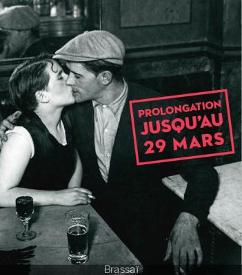 Brassaï, pour l'amour de Paris, l'exposition à l'Hôtel de Ville prolongé