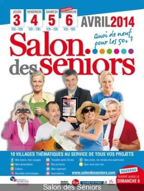 Le Salon des Séniors 2014 à Paris