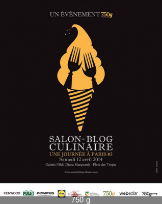 Le Salon du Blog Culinaire à Paris