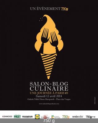 Le Salon du Blog Culinaire à Paris