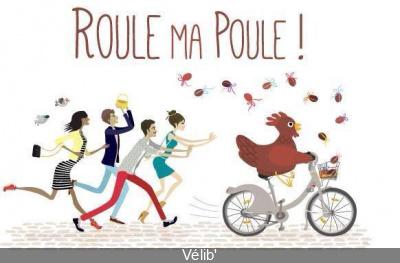 Pâques : Chasse aux poules avec Vélib'