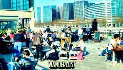 Le Wanderlust : réouverture de la terrasse