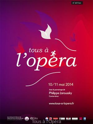 Tous à l'Opéra 2014 à Paris