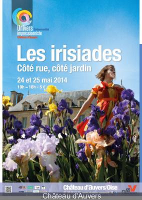 Les Irisiades 2014 au Château d'Auvers