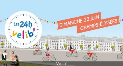 Les 24h du Vélib' 2014