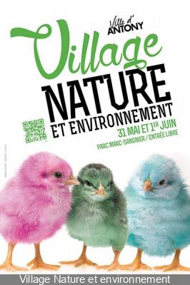 Le Village Nature et environnement à Antony 2014