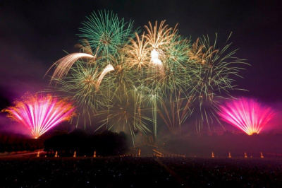 Le Grand Feu d'artifice de Saint-Cloud 2014