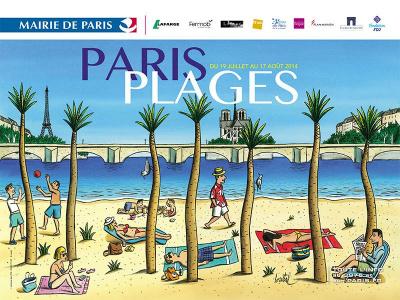 Paris Plage 2014