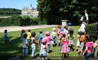 Château de Vaux le Vicomte pour les enfants