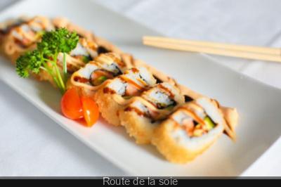 Route de la soie, le restaurant japonais contemporain