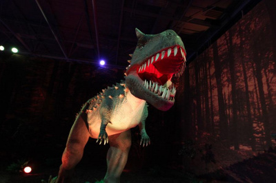 De l'ère des Dinosaures à l'ère de glace au Parc des expositions de Paris