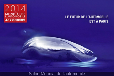 Salon Mondial de l'auto 2014 à Paris