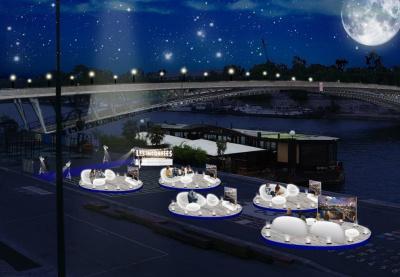 Les Incurvés, le festival soirée TV sur les Berges de Seine