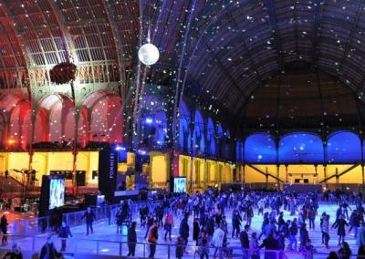 Le Grand Palais des Glaces, la patinoire géante du Grand Palais