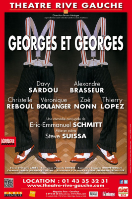 Georges et Georges au Théâtre Rive Gauche