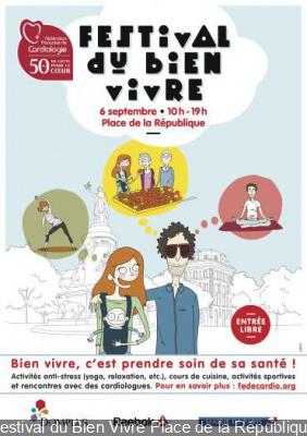 Festival du Bien Vivre Place de la République