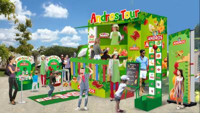 Le Food Truck Andros à Paris