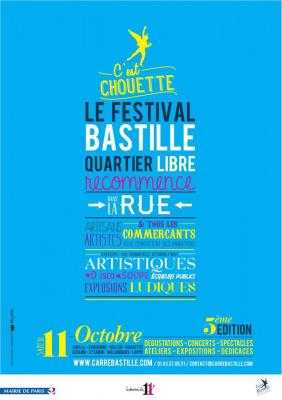 Festival Bastille Quartier Libre 2014, le programme