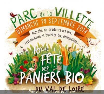 Fête des Paniers Bio du Val de Loire à la Villette