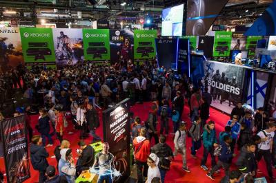 Paris Games Week 2014 - le salon du jeu vidéo à Paris