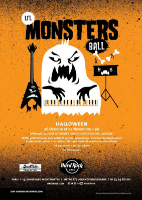 Halloween au Hard Rock Café Paris 2014