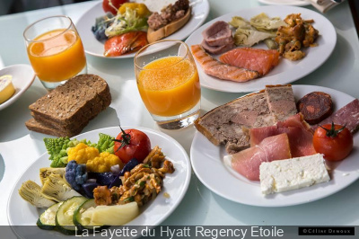 Brunch d'automne au restaurant La Fayette du Hyatt Regency Etoile